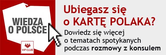 Karta Polaka - wiedza o Polsce