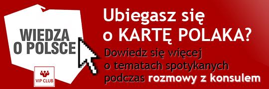 Karta Polaka - minikurs Wiedza o Polsce