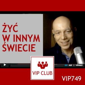 learn polish VIP749 żyć w innym świecie